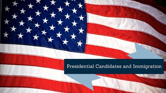 Presidential Candidates: American Flag with banner